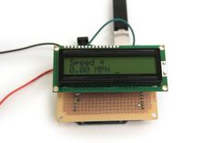 Picture of Final Speedometer Code