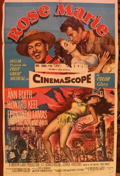 """Renew Gallery   """"Rose Marie"""" Movie Poster & 7 Lobby Cards"""