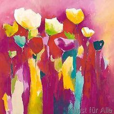 Anne L. Strunk - Townflowers I