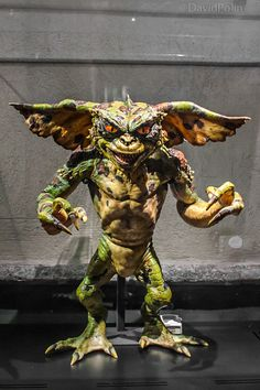 A prop of the Gremlins 2 Film in the Cinema Museum of Torino. Real Size.