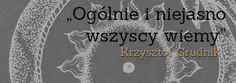 Krzysztof Grudnik Okultyzm i nowoczesność