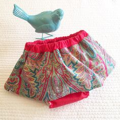 A personal favourite from my Etsy shop https://www.etsy.com/listing/506611072/baby-bloomers-baby-skirt-bloomers-kids
