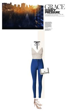 """Untitled #539"" by arwa-kl ❤ liked on Polyvore featuring Joomi Lim, Glamorous, Proenza Schouler and Giuseppe Zanotti"