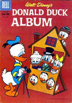 Carl Barks cover Walt Disney Donald Duck Dell comic book