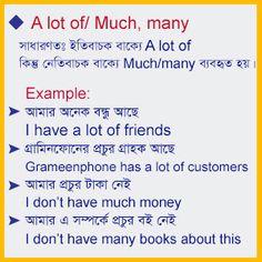Spoken English with Bengali: স্পোকেন ইংলিশ রুল -০৮ English Word Book, English Talk, English Speaking Practice, English Learning Spoken, English Language Learning, Learn English Words, English Lessons, English Grammar Tenses, English Sentences