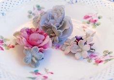 Pansy & Rose Clips