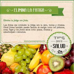 Elimina la fatiga con fruta #TipsExpress #Salud
