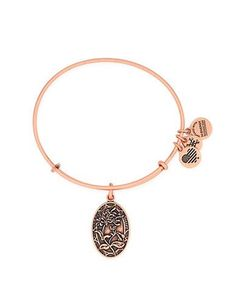 Alex And Ani Sister Charm Bracelet Women's Rose Gold