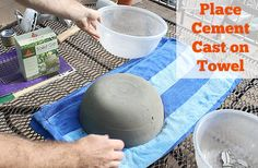 diy gel cement mini fire pits table tops, outdoor living