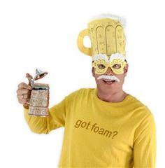 Beer Man Kit - 233099 | trendyhalloween.com #oktoberfest #beerman #halloween #beerhat