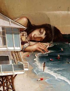 Image via We Heart It https://weheartit.com/entry/142383239/via/28124832 #art #artistic #beach #brownhair #cigarette #crying #depression #eyes #girl #heart #hipster #indie #Island #luxury #ocean #pale #people #pills #sadeyes #sadgirl #sadness #sea #sky #smoke #tumblr #woman #luxuryhouse #softgrunge #pastelgoth #seapunk