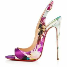 Classy floral heel