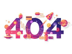 New illustration for 404 page. More illustrations here Thanks for watching!