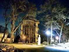 Gradina Mare Braila - Castelul de Apa Big Ben, Places To Visit, Landscape, Country, Building, Photography, Travel, Lifestyle, Romania