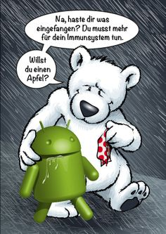 Naaa, verschnupft? ;-) #Apple #Android #iPhone #iPhone5s #iPhone5c