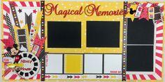 "Layout kit ""Magical Memories"""