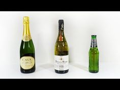 ▶ How to Open a Bottle - sabre, ribbon and bank note