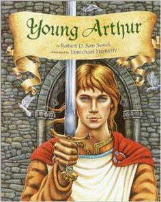 Young Arthur: Robert D. San Souci: 9780385322683: Amazon.com: Books