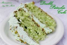 Double Pistachio Cake and Frosting