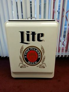 Miller Lite Retro Ice Box Cooler from Euclid Beverage