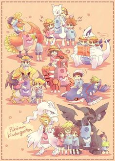 Some Legendary Pokemon