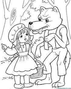 coloring pages for little red riding hood, coloring pages of little red riding hood, free coloring pages little red riding hood, little red riding hood coloring pages, mofassel. Angel Coloring Pages, Cute Coloring Pages, Disney Coloring Pages, Coloring Books, Coloring Sheets For Kids, Adult Coloring, Little Red Hen, Princess And The Pea, Creative Activities