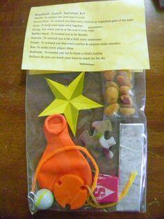 Baseball Coach Survival Kit * 10 items inside - Novelty gift in Gag Gifts | eBay