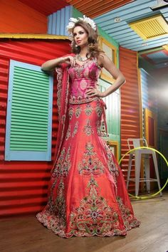 Ekta Solanki Designer Indian Bridal Collection Lehngas