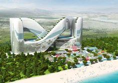 Resort Hotel for PyeongChang 2018 Winter Olympics   , - ,   The futuristic R...