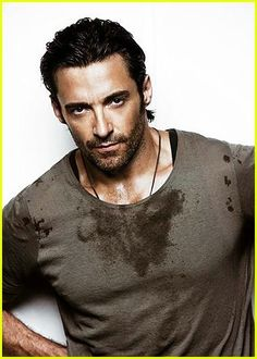 Hugh Jackman...just a tad hot...I'm thinking a shower...together