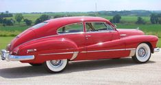 1946 Buick Super. My dad had a '48 like this, and even better looking, but this is very nice.  I like the color & wheels.