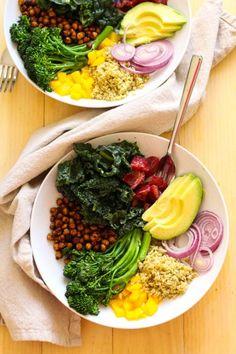 Blood Orange & Kale Salad with Freekeh - The Girl on Bloor