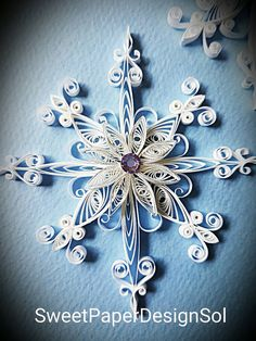 This beautiful Paper quilled Christmas 2 Snowflake Ornament for Everyone .  All Paper Quilled Christmas Ornament are made by order, Christmas Ornament with silver string. Paper Quilled Christmas Ornament size is 9.5cm X 9.5cm   let me know I will post personally.  All the Christmas Ornament will be coated, and will be stiff and water-proof.   This item will be shipped via Canada Post Standard mail (4-7 days but usually arrives sooner) and does not include insurance or a tracking number. If…