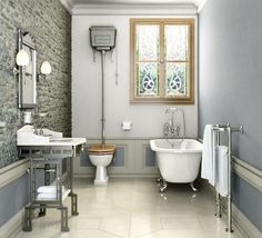 Stunning traditional bathroom suite from Burlington.