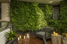 Terraza jardín vertical delavegarquitectura