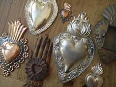 heart collection by suzanneduda, via Flickr