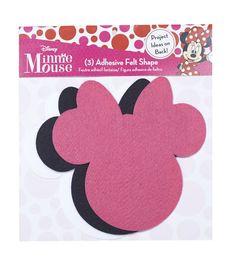 Disney Minnie Mouse Ears Adhesive Felt Pack Large