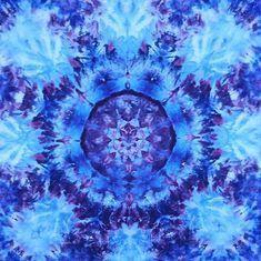 Psychedelic tie dye tapestry wall hanging blues  #tiedye #tapestry #wallhanging #trippy #psychedelic #blue #art #boho #mandala #etsy #handmade