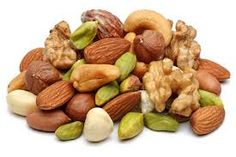 Eat nuts daily to balance #testosterone.