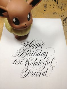 Birthday wishes by Barbara Calzolari