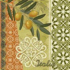 Olives Green Tile (Jennifer Brinley)