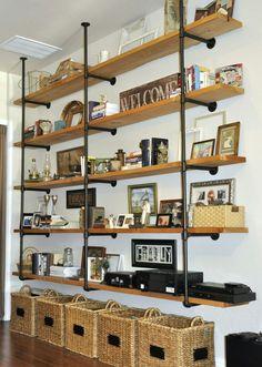 ¡Modernos Estantes de Tubos para Interiores de Casa! - Ideas Perfectas