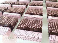 Caixas de Madeira Forradas de Tecido
