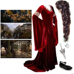 Rivendel Elf by creaturesinthedark on Polyvore featuring Ippolita