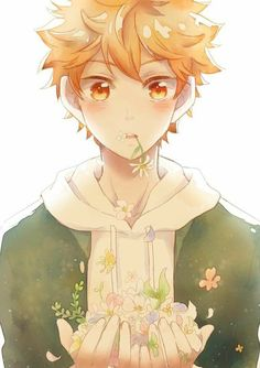 haikyuu, anime, and hinata image Me Anime, Anime Kawaii, Anime Angel, Anime Love, Manga Anime, Anime Art, Manga Haikyuu, Haikyuu Karasuno, Hinata Shouyou