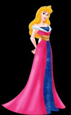 Pink + Blue dress mash-up ! <3 <3 <3