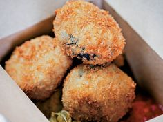 These Homemade Breaded Pickled Shiitake Bites Rival the Momofuku Version #food trendhunter.com