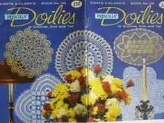 Doilies   tatted knit and crochet by Coats & by CarolsCreations77, $3.25