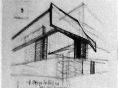 """Στοιχεία """"Εξοχικής Κατοίκησης"""" :""""Αρχιτεκτονική"""" 1957-1969: Σπίτι στο Ψυχικό - House in psihiko zenetos Weekend House, Utility Pole"""
