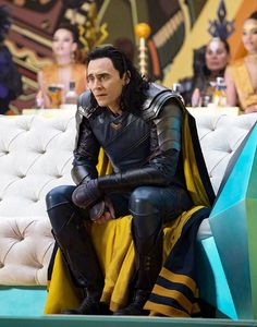 Poor nervous Loki